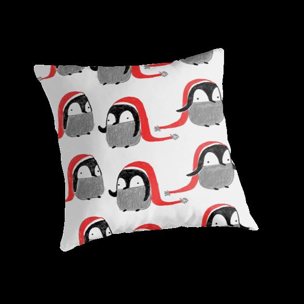 aurora-cacciapuoti-pattern-cushion-penguins