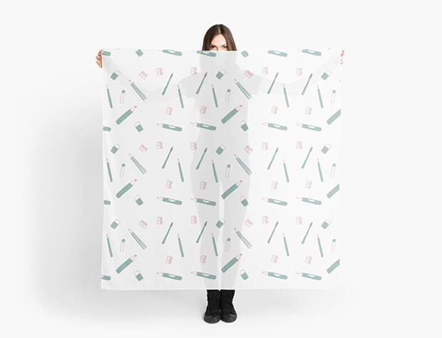 aurora-cacciapuoti-pattern-scarf-school
