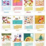 2022 Calendar - Calendario 2022 6